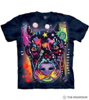 Russo Doberman T-shirt | Dog T-shirts | The Mountain® | Dean Russo
